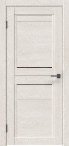 Межкомнатная дверь RM013 (экошпон «белый дуб» / стекло бронзовое)