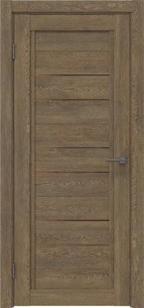 Межкомнатная дверь RM014 (экошпон «дуб антик» / стекло бронзовое)