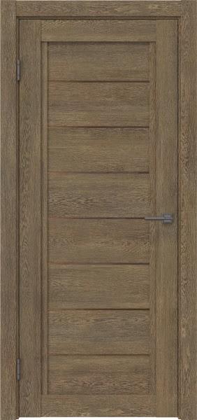 Межкомнатная дверь RM016 (экошпон «дуб антик» / стекло бронзовое)