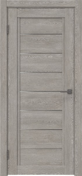 Межкомнатная дверь RM016 (экошпон «дымчатый дуб» / матовое стекло)