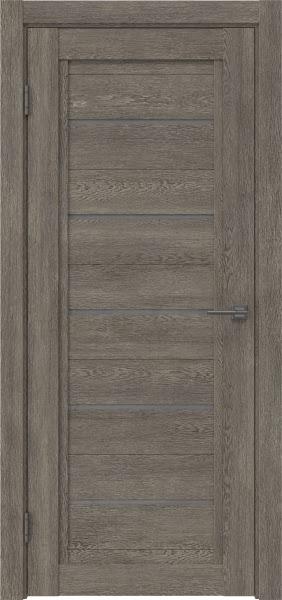 Межкомнатная дверь RM017 (экошпон «серый дуб» / лакобель серый)