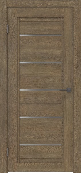 Межкомнатная дверь RM017 (экошпон «дуб антик» / матовое стекло)