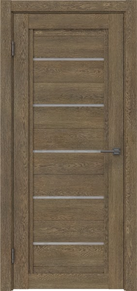 Межкомнатная дверь RM017 (экошпон «дуб антик» / лакобель белый)