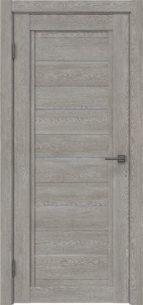 Межкомнатная дверь RM017 (экошпон «дымчатый дуб» / лакобель белый)