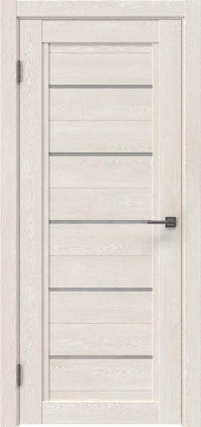 Межкомнатная дверь RM017 (экошпон «белый дуб» / лакобель белый)