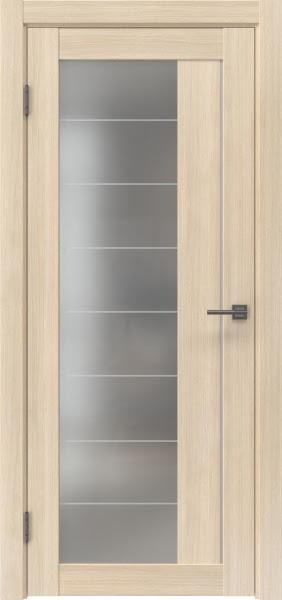 Межкомнатная дверь RM018 (экошпон «капучино мелинга» / матовое стекло)