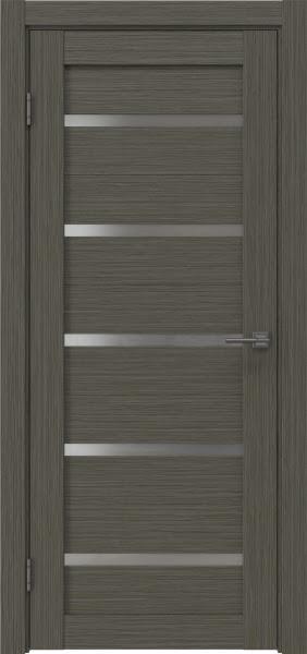 Межкомнатная дверь RM020 (экошпон «грей мелинга» / матовое стекло)