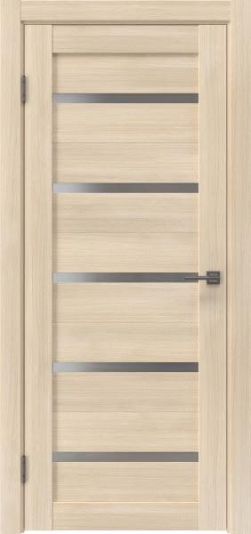 Межкомнатная дверь RM020 (экошпон «капучино мелинга» / матовое стекло)