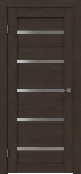 Межкомнатная дверь RM020 (экошпон «мокко» / матовое стекло)