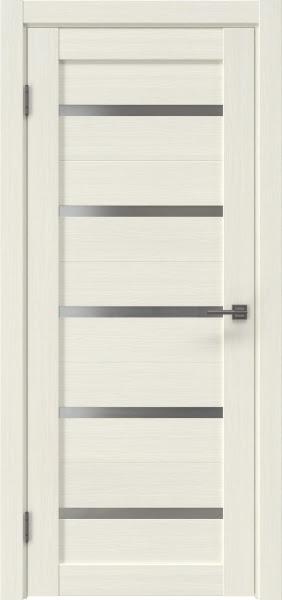 Межкомнатная дверь RM020 (экошпон «эш вайт мелинга» / матовое стекло)