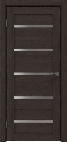 Межкомнатная дверь RM020 (экошпон «венге мелинга» / матовое стекло)