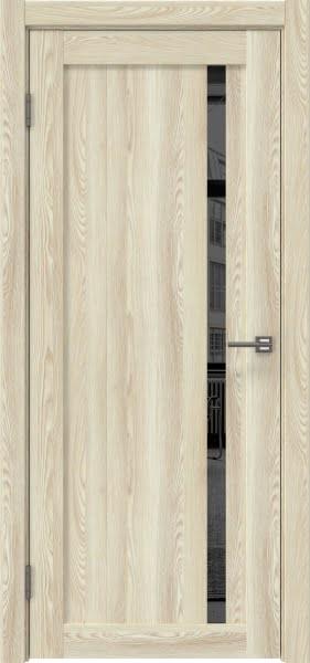 Межкомнатная дверь RM022 (экошпон «клен экрю» / зеркало тонированное)