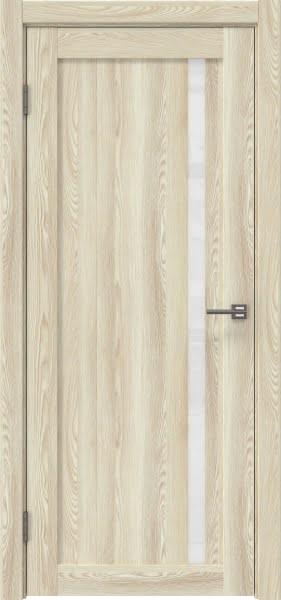 Межкомнатная дверь RM022 (экошпон «клен экрю» / лакобель белый)