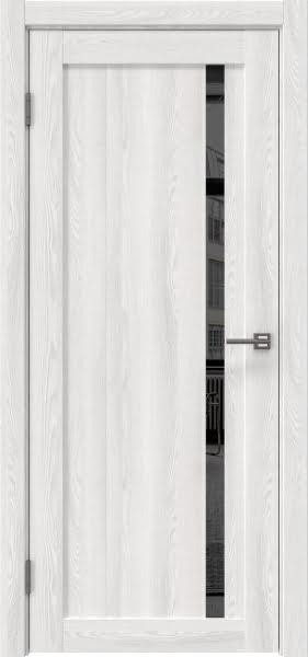 Межкомнатная дверь RM022 (экошпон «ясень айс» / зеркало тонированное)