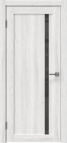 Межкомнатная дверь RM022 (экошпон «ясень айс» / лакобель серый)