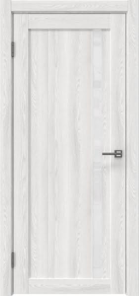 Межкомнатная дверь RM022 (экошпон «ясень айс» / лакобель белый)