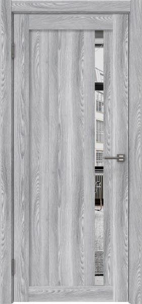 Межкомнатная дверь RM022 (экошпон «ясень грей» / зеркало)