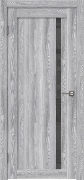 Межкомнатная дверь RM022 (экошпон «ясень грей» / лакобель серый)