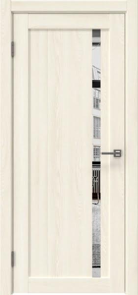 Межкомнатная дверь RM022 (экошпон «ясень крем» / зеркало)