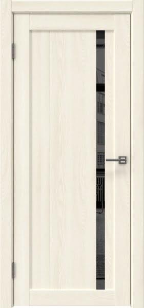 Межкомнатная дверь RM022 (экошпон «ясень крем» / зеркало тонированное)