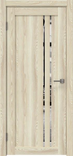 Межкомнатная дверь RM023 (экошпон «клен экрю» / зеркало)