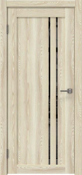 Межкомнатная дверь RM023 (экошпон «клен экрю» / зеркало тонированное)