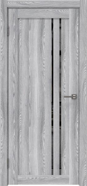 Межкомнатная дверь RM023 (экошпон «ясень грей» / зеркало тонированное)