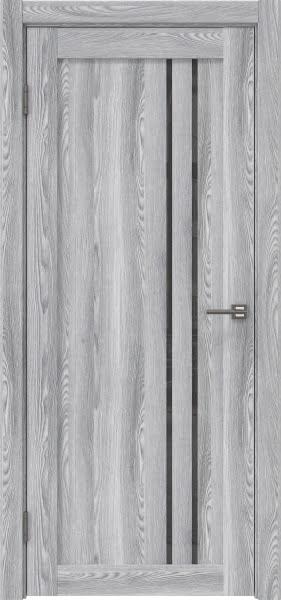 Межкомнатная дверь RM023 (экошпон «ясень грей» / лакобель серый)