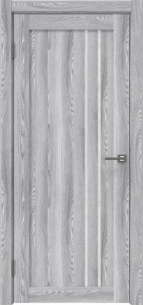 Межкомнатная дверь RM023 (экошпон «ясень грей» / лакобель белый)