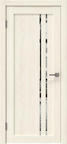 Межкомнатная дверь RM023 (экошпон «ясень крем» / зеркало)