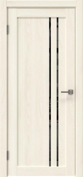 Межкомнатная дверь RM023 (экошпон «ясень крем» / зеркало тонированное)