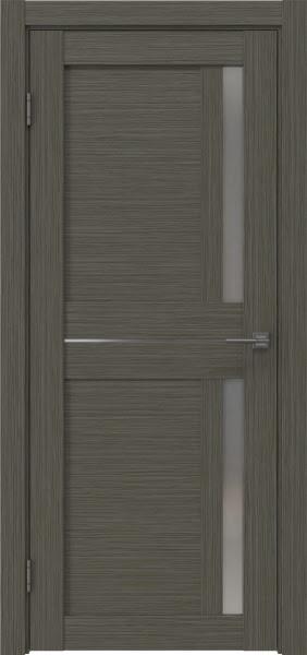 Межкомнатная дверь RM024 (экошпон «грей мелинга» / матовое стекло)