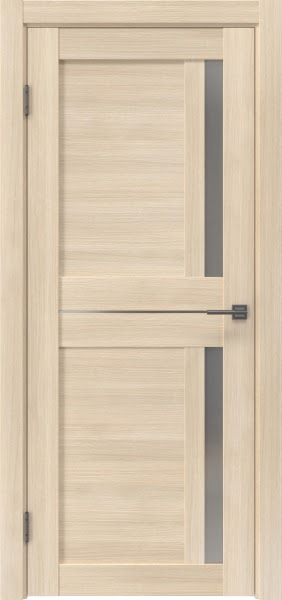 Межкомнатная дверь RM024 (экошпон «капучино мелинга» / матовое стекло)