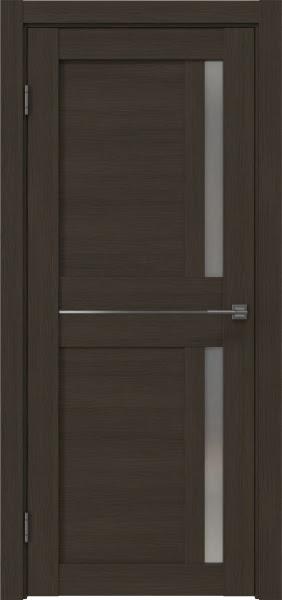 Межкомнатная дверь RM024 (экошпон «мокко» / матовое стекло)