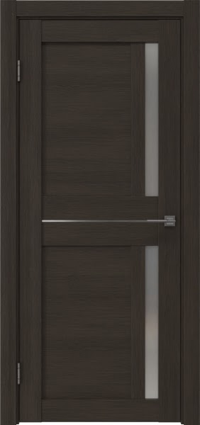 Межкомнатная дверь RM024 (экошпон «венге мелинга» / матовое стекло)