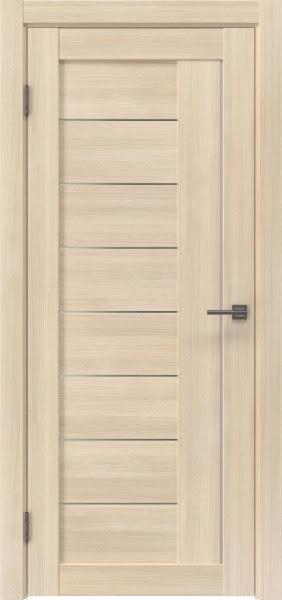 Межкомнатная дверь RM025 (экошпон «капучино мелинга» / матовое стекло)