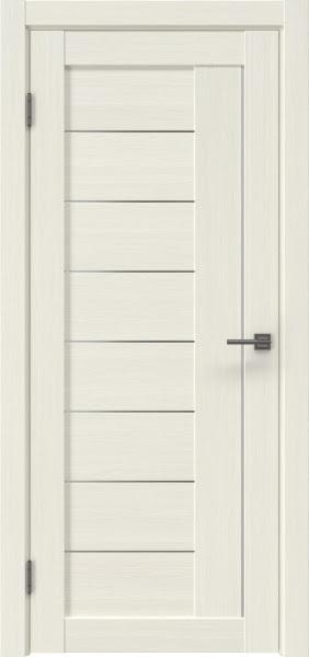 Межкомнатная дверь RM025 (экошпон «эш вайт мелинга» / матовое стекло)
