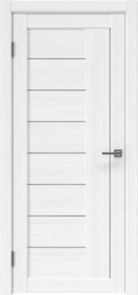 Межкомнатная дверь RM025 (экошпон «белый FL», лакобель белый)