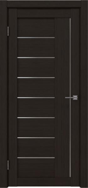 Межкомнатная дверь RM025 (экошпон «венге FL», матовое стекло)
