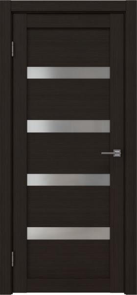 Межкомнатная дверь RM027 (экошпон «венге FL», матовое стекло)