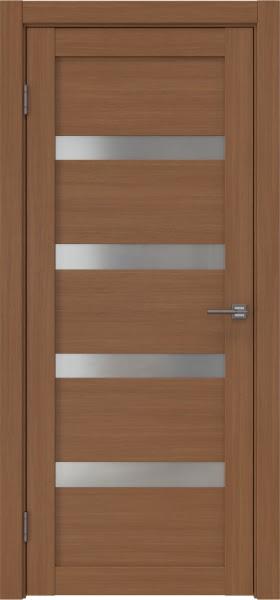 Межкомнатная дверь RM027 (экошпон «орех FL», матовое стекло)