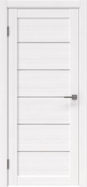Межкомнатная дверь RM028 (экошпон «белый FL», лакобель белый)