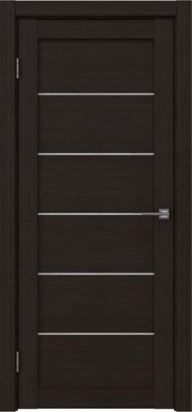 Межкомнатная дверь RM028 (экошпон «венге FL», лакобель белый)