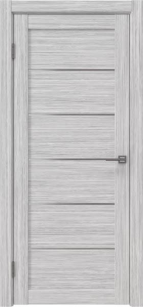 Межкомнатная дверь RM028 (экошпон «серый дуб FL», матовое стекло)