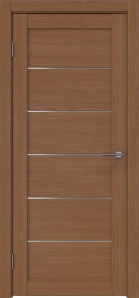 Межкомнатная дверь RM028 (экошпон «орех FL», матовое стекло)