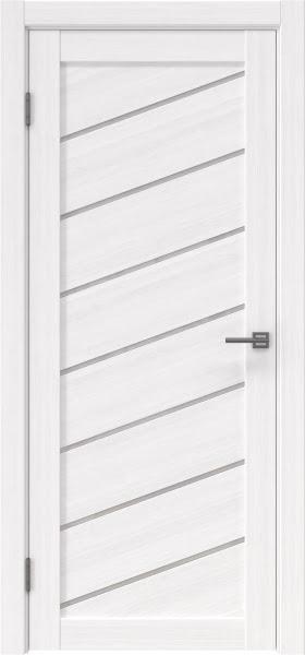 Межкомнатная дверь RM029 (экошпон «белый FL», лакобель белый)