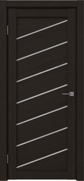 Межкомнатная дверь RM029 (экошпон «венге FL», лакобель белый)