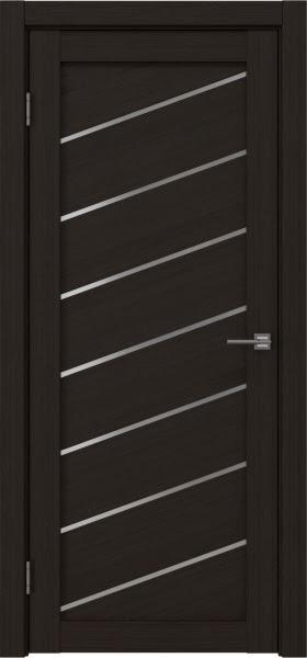 Межкомнатная дверь RM029 (экошпон «венге FL», матовое стекло)