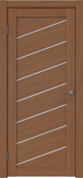 Межкомнатная дверь RM029 (экошпон «орех FL», лакобель белый)
