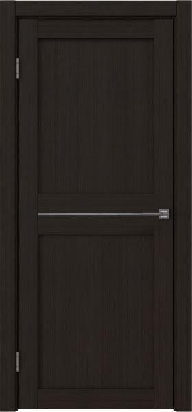 Межкомнатная дверь RM030 (экошпон «венге FL», лакобель белый)
